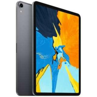 iPad Pro 11インチ Liquid Retinaディスプレイ Wi-Fiモデル 1TB - スペースグレイ MTXV2J/A 2018年モデル [1TB]