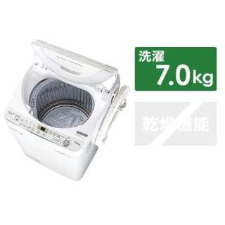 ES-GE7C-W 全自動洗濯機 ホワイト系 [洗濯7.0kg /乾燥機能無 /上開き]
