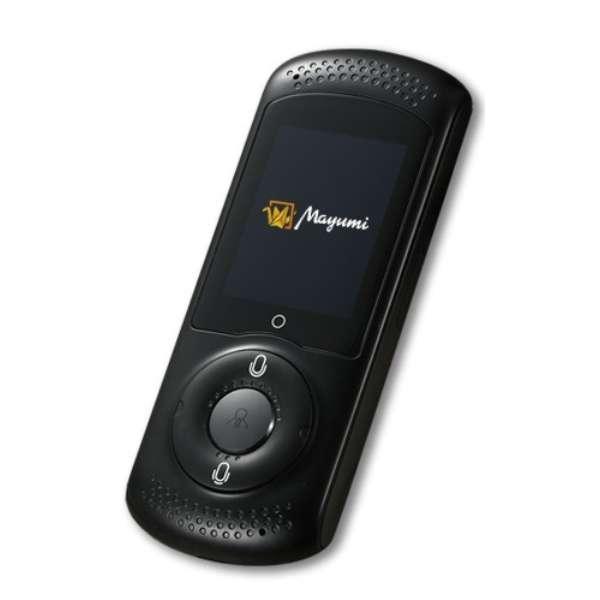 〔通訳機:3G/4G/Wi-Fi対応〕 Mayumi ll グローバルデータSIM付き MU-001-02B ブラック