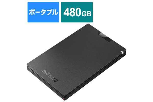 バッファロー「SSD-PGCU3-A」SSD-PGC480U3-BA