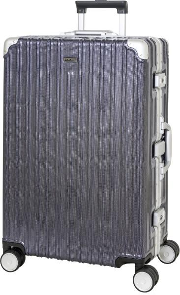 スーツケース 70L LOJELBOSS ネイビーカーボン LB-0781-64 [TSAロック搭載]