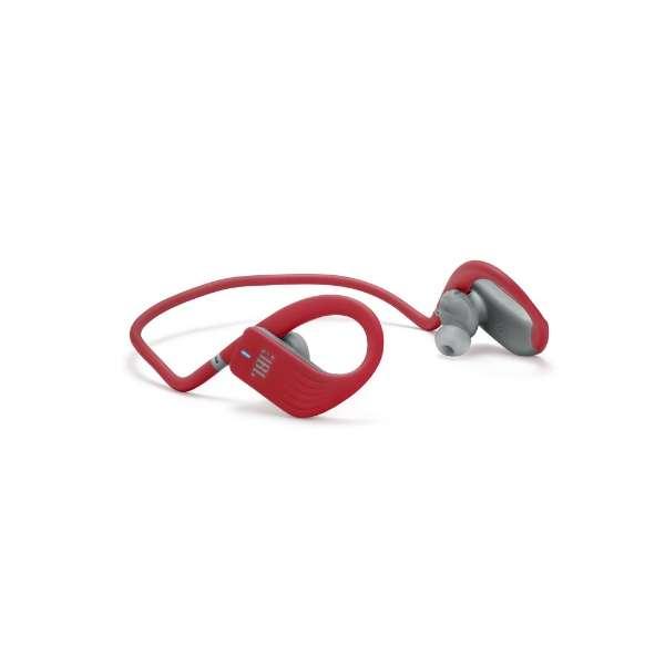 45a60975b9 ブルートゥース イヤホン 耳かけ型 ENDURANCE JUMP レッド JBLENDURJUMPRED [リモコン・マイク対応 /ワイヤレス
