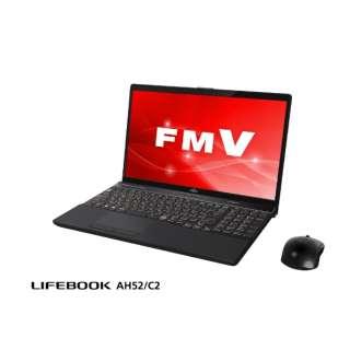LIFEBOOK AH52/C2 ノートパソコン ブライトブラック FMVA52C2BB [15.6型 /intel Core i5 /SSD:256GB /メモリ:8GB /2018年12月モデル]