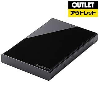【アウトレット品】 USB3.0対応ポータブルハードディスク[500GB] ELP-AED005UBK 【生産完了品】