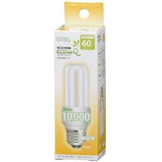 電球形蛍光灯 D形 E26 60形相当 電球色 EFD15EL/11