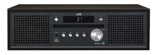 ジェイブイシー コンパクトコンポーネントシステム NX-W31 ブラック ワイドFM対応 Bluetooth対応