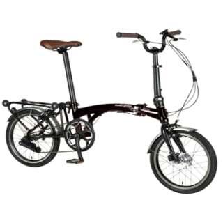【eバイク】 16型 電動アシスト 折りたたみ自転車 Harry Quinn PORTABLE E-BIKE(ブラック) AL-FDB160E【2019年モデル】 【組立商品につき返品不可】