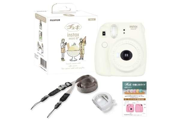 富士フイルム インスタントカメラ「instax mini 8+(プラス)」INSMINI8PLUS