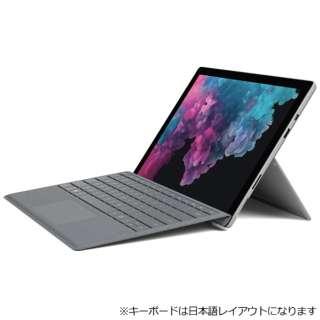 Surface Pro 6[12.3型 /SSD:256GB /メモリ:8GB/IntelCore i5/シルバー/2018年]LJM-00011 Windowsタブレット サーフェスプロ6