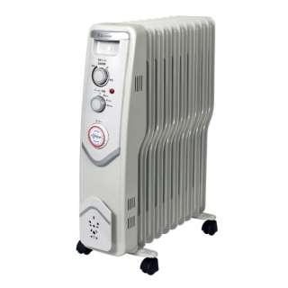 SKJ-SE120ROT オイルヒーター ホワイト [最大8畳]