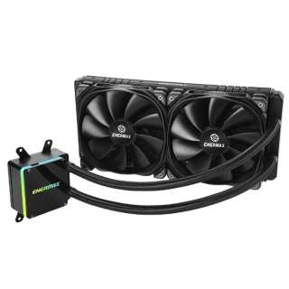 ENERMAX AMD Ryzen Threadripper専用 水冷CPUクーラー 280mmモデル ELC-LTTRTO280-TBP [Socket TR4、Socket SP3専用]