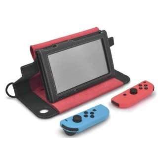 Nintendo Switch用OJO Explorerレザーケース レッド CAE02-2 【Switch】