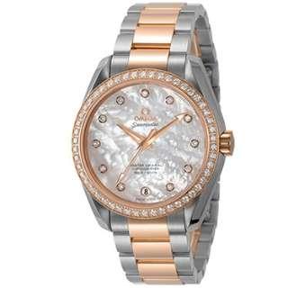 half off 1607a f8539 ビックカメラ.com - 【店舗のみ販売】 レディース腕時計 SEAMASTER AQUA TERRA 23125392155001 【並行輸入品】