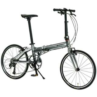20型 折りたたみ自転車 PLATINUM MACH8(Metallic Silver/9段変速)11298-09 【組立商品につき返品不可】