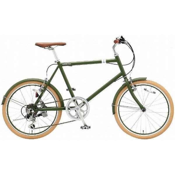 20型 クロスバイク シークレットコード206(マットグリーン/460サイズ《適応身長:約150cm以上》) SCH206 【組立商品につき返品不可】