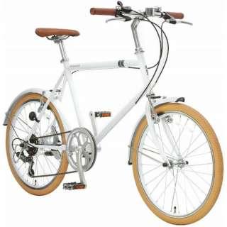 20型 クロスバイク シークレットコード206(ホワイト/460サイズ《適応身長:約150cm以上》) SCH206 【組立商品につき返品不可】
