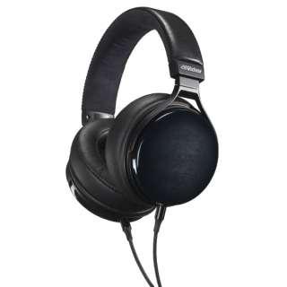 ヘッドホン HA-WM90-B ヴィンテージウッド アクアティンバー [φ3.5mm ミニプラグ /ハイレゾ対応]