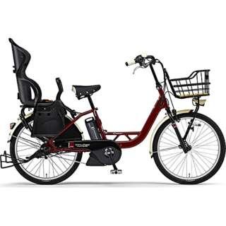 【単品購入時メーカー直送】24型 電動アシスト自転車 PAS Crew Disney Edition ミッキー90周年限定デザイン(アメリカンレッド/内装3段変速)19PA24C【2019年モデル】 【台数限定商品・組立商品につき返品不可】