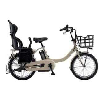 【単品購入時メーカー直送】20型 電動アシスト自転車 PAS Babby un(マットカフェベージュ/内装3段変速)19PA20BXLR【2019年・リヤチャイルドシート標準搭載モデル】 【組立商品につき返品不可】