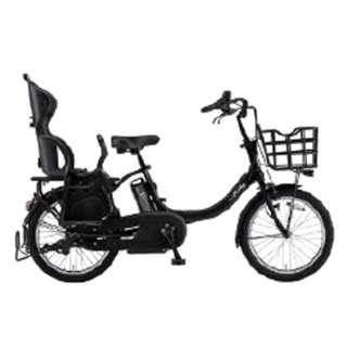 【単品購入時メーカー直送】20型 電動アシスト自転車 PAS Babby un(マットブラック2/内装3段変速)19PA20BXLR【2019年・リヤチャイルドシート標準搭載モデル】 【組立商品につき返品不可】