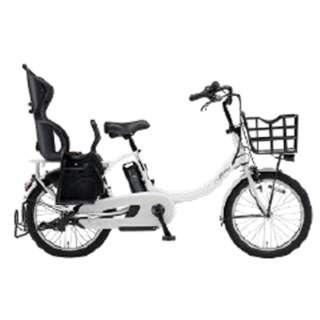 【単品購入時メーカー直送】20型 電動アシスト自転車 PAS Babby un(ピュアホワイト/内装3段変速)19PA20BXLR【2019年・リヤチャイルドシート標準搭載モデル】 【組立商品につき返品不可】