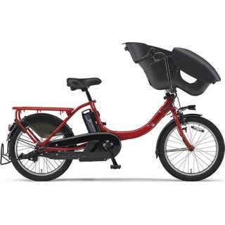 【単品購入時メーカー直送】20型 電動アシスト自転車 PAS Kiss mini un(ビビッドレッド/内装3段変速)19PA20KXL【2019年モデル】 【組立商品につき返品不可】