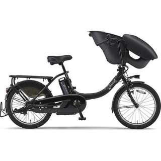 【単品購入時メーカー直送】20型 電動アシスト自転車 PAS Kiss mini un(マットブラック2/内装3段変速)19PA20KXL【2019年モデル】 【組立商品につき返品不可】