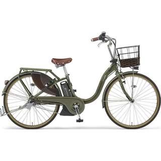 26型 電動アシスト自転車 PAS With DX(ディープフォレスト/内装3段変速)PA26BGWD9【2019年モデル】 【組立商品につき返品不可】