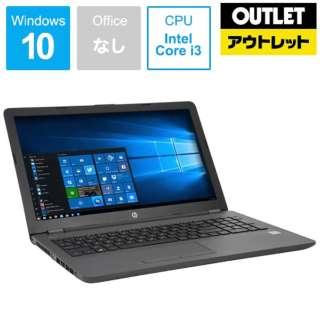 【アウトレット品】 15.6型ノートPC[Win10 Home・Core i3・HDD 500GB・メモリ 4GB]  HP 250 G6  1RR55PA#ABJ 【数量限定品】