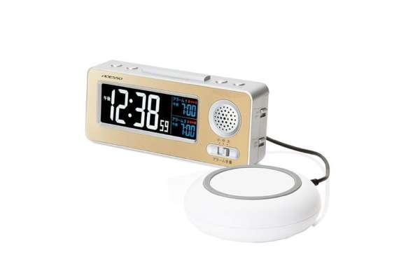 目覚まし時計おすすめ18選 アデッソ 「起きロック」 MG-97