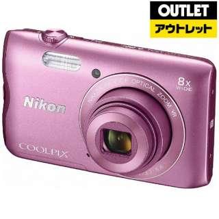 【アウトレット品】 コンパクトデジタルカメラ COOLPIX(クールピクス) A300 ピンク 【生産完了品】