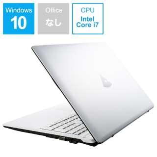 mouse ノートパソコン ホワイト MB-B507HS [15.6型 /intel Core i7 /SSD:512GB /メモリ:16GB /2018年11月モデル]