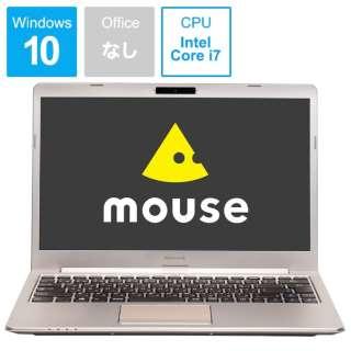 mouse ノートパソコン シャンパンゴールド MB-B400HS [14.0型 /intel Core i7 /SSD:512GB /メモリ:8GB /2018年11月モデル]