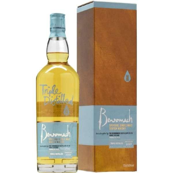 ベンロマック トリプル・ディスティルド 2009 700ml【ウイスキー】