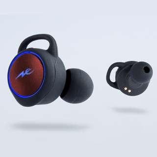 フルワイヤレスイヤホン レッド HP-T100BTR [リモコン・マイク対応 /ワイヤレス(左右分離) /Bluetooth]