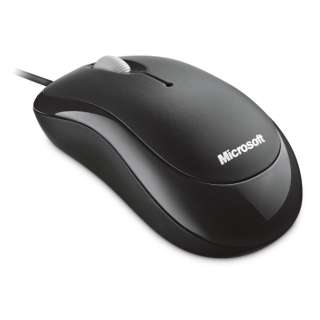P58-00071 マウス Basic Optical Mouse sesame black [光学式 /3ボタン /USB /有線]