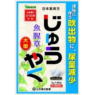 【第3類医薬品】 日局 ジュウヤク(ティーバッグ 5g×48包)〔便秘薬〕