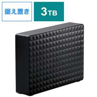SGD-MX030UBK 外付けHDD ブラック [据え置き型 /3TB]