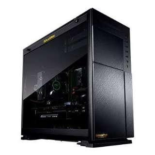 RTX2080 ゲーミングデスクトップPC [モニター無 /intel Core i7 /GeForce RTX2080(8GB)/HDD:1TB /SSD:250GB /メモリ:16GB /2018年11月モデル] GAMEMASTER_GXBC70R8 [モニター無し]