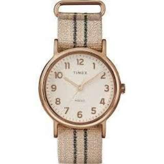 メンズ / レディース腕時計 ウィークエンダーメタリック38mm ピンクグラファイト ナイロンストラップ 【正規品】 TW2R92100