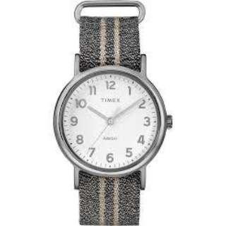 メンズ / レディース腕時計 ウィークエンダーメタリック38mm ブルーグラファイト ナイロンストラップ 【正規品】 TW2R92200