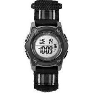 TIMEX Kids タイムマシーンデジタル ブラック ファストラップストラップ 【正規品】 TW7C26400
