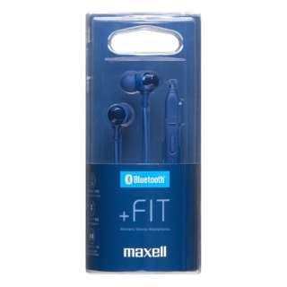 ブルートゥースイヤホン カナル型 ダークブルー MXH-BTC110DB [リモコン・マイク対応 /ワイヤレス(ネックバンド) /Bluetooth]