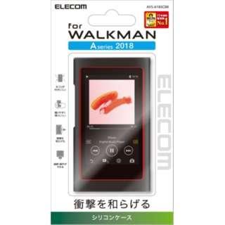 Walkman A 2018 NW-A50シリーズ対応 シリコンケース AVS-A18SCBK ブラック AVS-A18SCBK ブラック