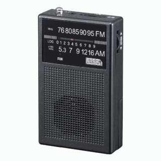 FM/AM 長寿命ハンディラジオ ブラック RD31 [AM/FM /ワイドFM対応]