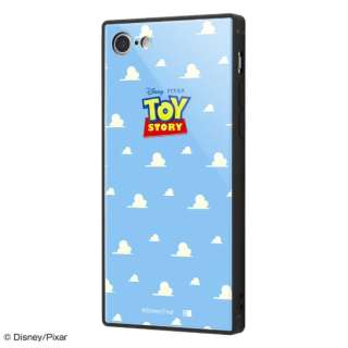 iPhone SE(第2世代)4.7インチ/ iPhone 8 / 7用 『ディズニー・ピクサーキャラクター』 耐衝撃ガラスケース KAKU IQ-DP7K1B/TY002 『トイ・ストーリー』_25