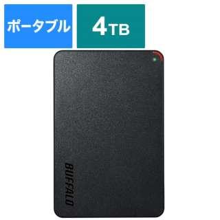 HD-PCFS4.0U3-GBA 外付けHDD ブラック [ポータブル型 /4TB]