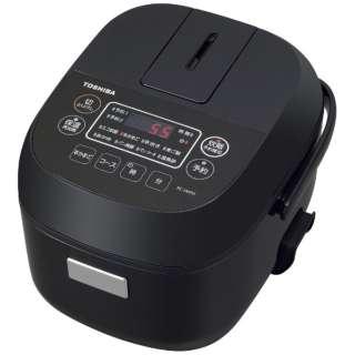 RC-5MFM-K 炊飯器 ブラック [3合 /マイコン]
