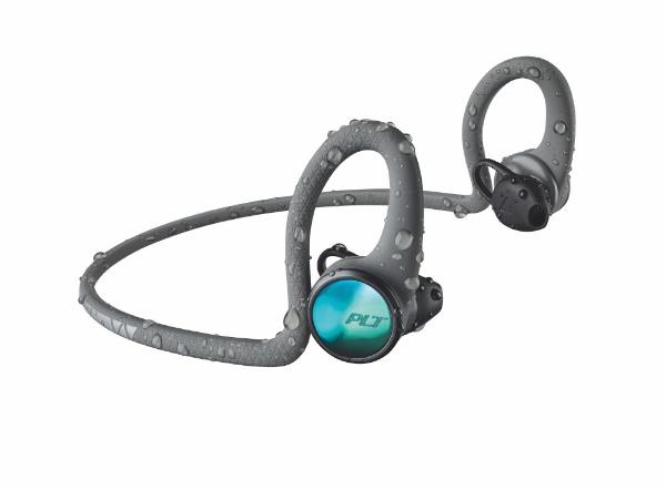 ブルートゥースイヤホン グレー BACKBEATFIT2100-GRY [リモコン・マイク対応 /ワイヤレス ネックバンド  /Bluetooth]