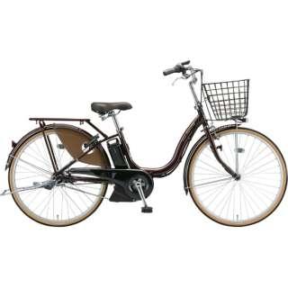 26型 電動アシスト自転車 アシスタファイン DX(F.Xカラメルブラウン/内装3段変速)A6XC49【2019年モデル】 【組立商品につき返品不可】